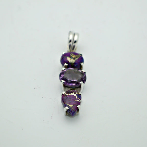 Purple Turquoise and Amethyst