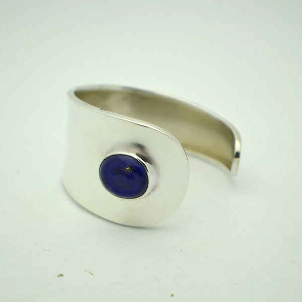 Lapis Wrap Side Cuff