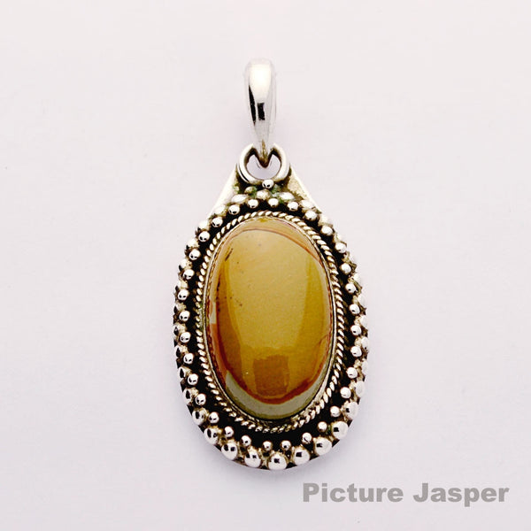 Picture Jasper Gothic Oval