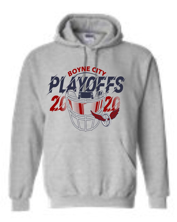 2020 Boyne City Football Playoff Sweatshirt