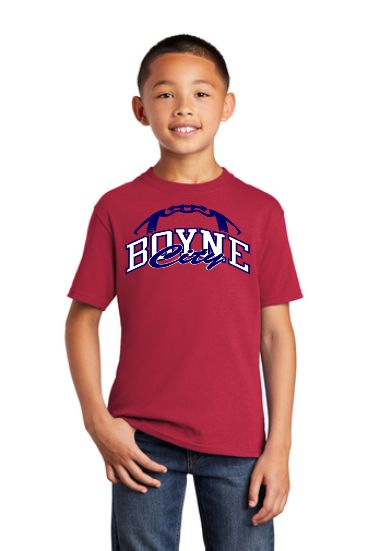 Port & Company® Youth Core Cotton Tee/ PC54Y - Football