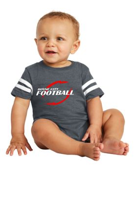 Rabbit Skins™ Infant Football Fine Jersey Bodysuit / RS4437