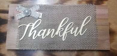 Live Craft Kit - Thankful
