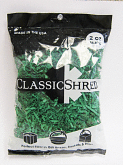 2 oz Paper Shred - Green