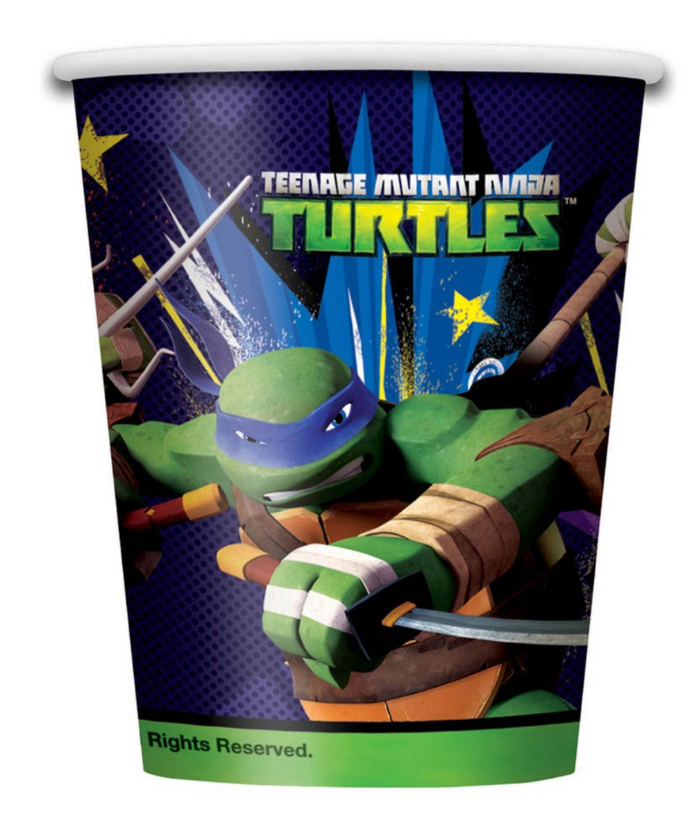 TMNT 9oz. Paper Cups 8ct.