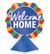 "3-D Foil Welcome Home Centerpiece 12½"" x 9"""