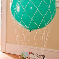 "36"" White Balloon Net"