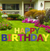 Happy Birthday Multicolored Yard Cards 13ct