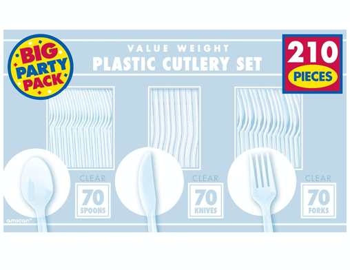 Clear Value Window Box Cutlery Set
