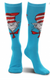 Dr. Seuss The Cat in the Hat Paws Knee High Costume Socks