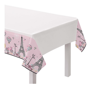 Day In Paris Plastic Tablecover