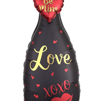 "35"" BUBBLY LOVE GARLAND BALLOON SHAPE"