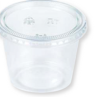 5.5 OZ. Portion Cups with Lids 16CT