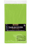 "Fresh Lime Plastic Tablecover 54""x108"""