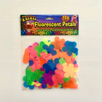 FLUORESCENT MULTI COLOR PETALS