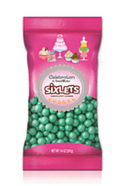 Sixlets Chocolatey Candies Shimmer Turquoise