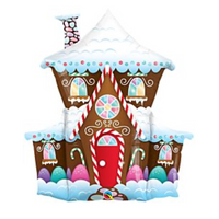 "37"" Gingerbread House"