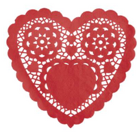"Red Heart Doilies 6"" 30ct"