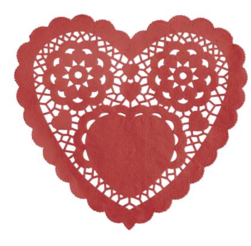 Red Heart Doilies 6