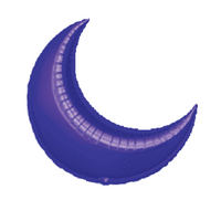 "26"" Purple Crescent #328"