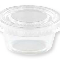 2 OZ. Portion Cups with Lids 24CT