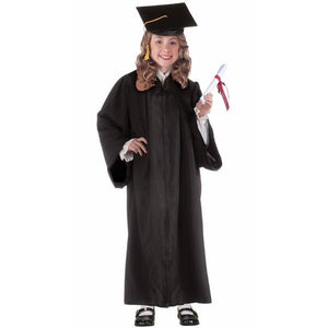 CHILD GRADUATION ROBE BLACK