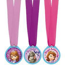 Sofia the First Award Medals