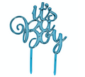 Boy Baby Shower Cake Topper