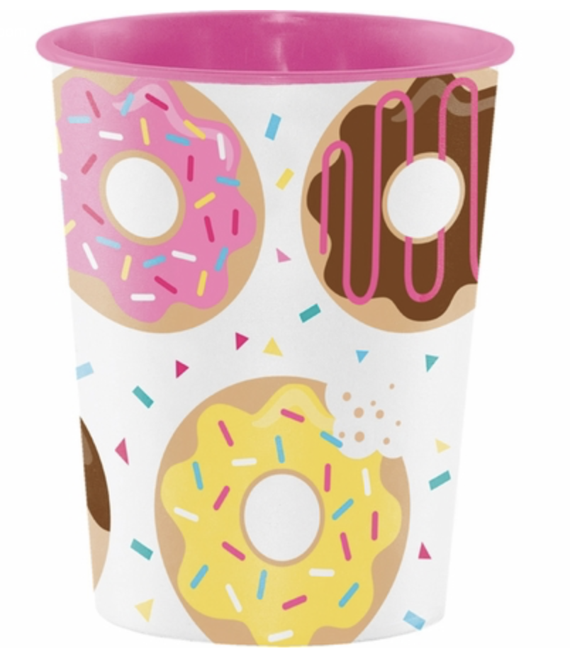 Donut Time Favor Cup