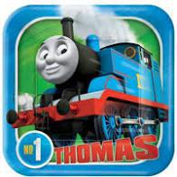 Thomas All Board Sq 7in Plate