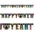 Confetti New Years Large Jointed Banner