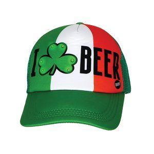 ASSORTED ST PATRICK'S DAY LIGHT UP BASEBALL CAP