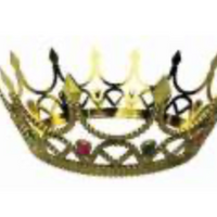 Royal Queen Crown - Gold
