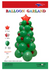 Balloon Christmas Tree Garland Kit