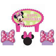 Minnie Bday Candle Box Set