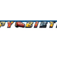 Disney Cars 3 Movie Large Jointed Banner