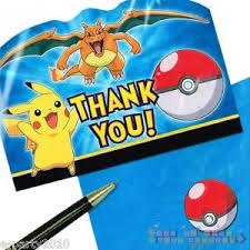Pikachu-Friends Thank You
