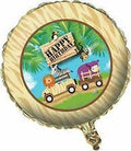 "18"" Safari Adventure Metallic Balloon"