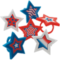 VP Patriotic Star Rings