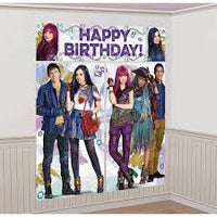 ©Disney Descendants 2 Scene Setters¨ Wall Decorating Kit