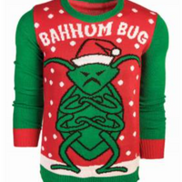 CHRISTMAS SWEATER BAHHUM BUG