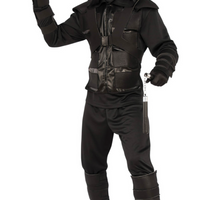 ADULT DARK NINJA COSTUME