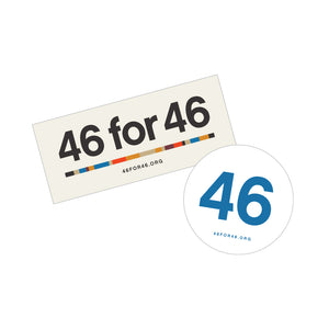 46 for 46 Sticker Pack