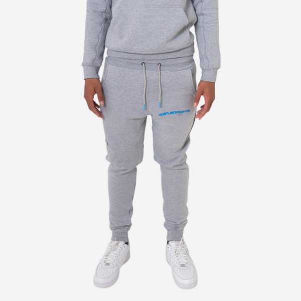 """Hustler's Ambition"" Bottoms - Grey"