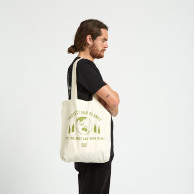 Green Feet Tote Bag