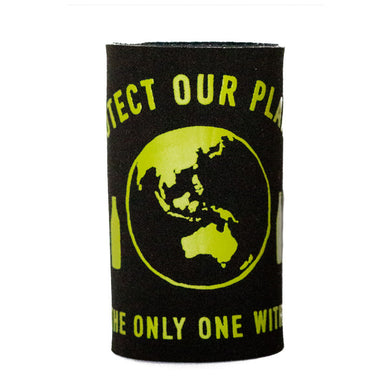 Green Feet Stubby Holder