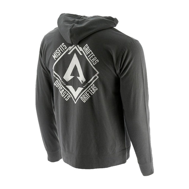 Misfits, Outcasts, Grifters, and Drifters Zip Hoodie