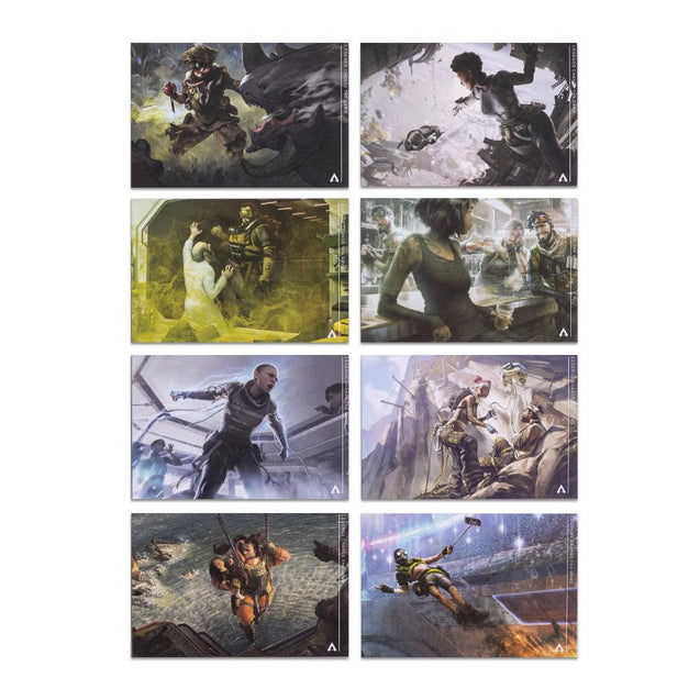 Apex Legends Mini Concept Art Cards (8-Pack)