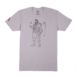 Caustic Line Art T-Shirt