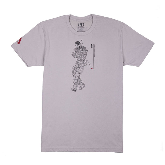 Mirage Line Art T-Shirt
